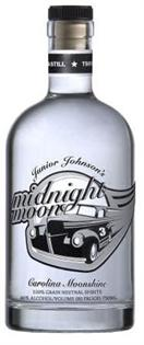 Midnight Moon Junior Johnson's Moonshine 100 Proof...